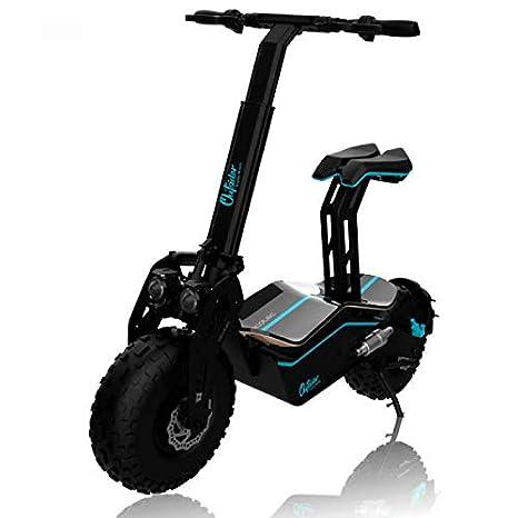 Cecotec Ciclomotor eléctrico Outsider DemiGod Makalu. Sube cuestas de gran inclinación, potencia máx. de 1600W, Ruedas XXL con tacos y sist. ...