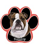Bulldog Dog Paw Non-Slip Mousepad