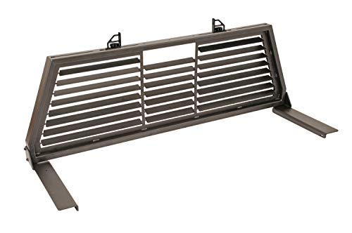 Dee Zee DZ95050WSLB Black Steel Louvered Cab Rack ()