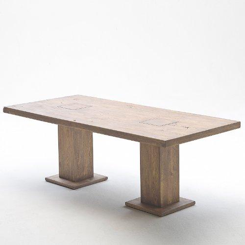 Exkl. 220cm Esszimmertisch Eiche massiv gekälkt Esstisch Esszimmer Tisch
