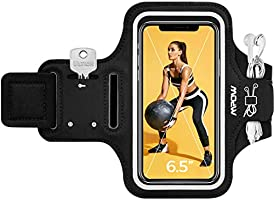 Mpow Phone Armband for iPhone 11 Pro Max/XS Max/ 11/ XR/ 8 Plus, Samsung Galaxy S9/S8/S7 Plus up to 6.5'', Ultra-Light & ...