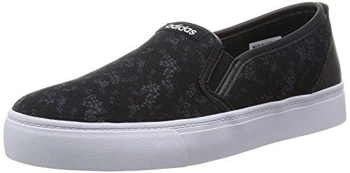 adidas Park St Slipon W - cblack/ftwwht/dgsogr, Größe:7