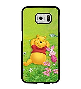 Galaxy S6 Case, Disney Winnie the Pooh Bear Unique Anti Dust Impact Resistant Fit for Samsung Galaxy S6