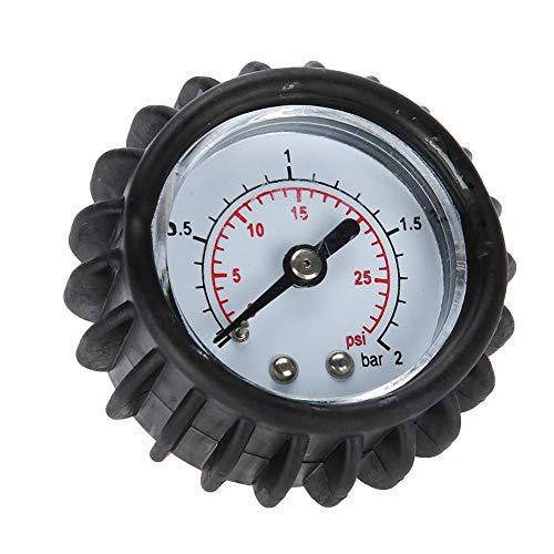 VGEBY 30PSI - Medidor de presión de Aire, barómetro de Alta precisión para Barco Hinchable, raft, Kayak