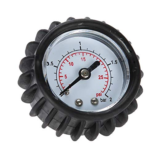 VGEBY 30PSI Air Pressure Gauge, 2BAR High Accuracy Air Pressure Check Barometer for Inflatable Boat Raft Kayak