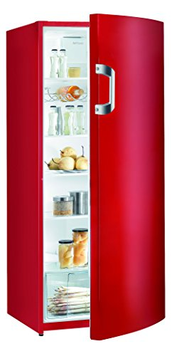 Gorenje R 6152 BRD Kühlschrank / A++ / Höhe 145 cm / Kühlen: 302 L / Feuerrot / DynamicCooling-System / Colour Edition