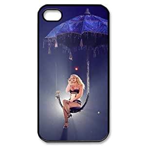 WJHSSB Customized Print Britney Spears Pattern Back Case for iPhone 4/4S