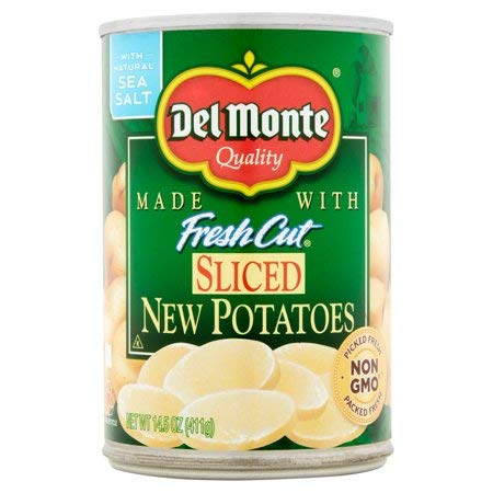Expect More Del Monte Sliced New Potatoes, 6 ct. / 87 Oz
