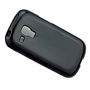 MOLLYCOOCLE Soft TPU Case for Samsung Galaxy Y Duos S6102 Protective Shell (Black)