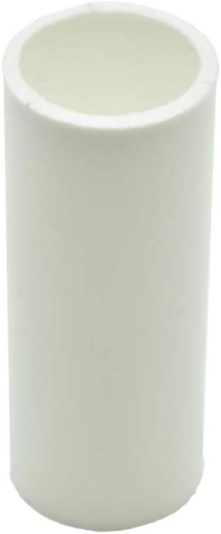 6 portavelas E14 blanco L portavelas portal/ámparas Portavelas de pl/ástico de 65 mm para candelabro
