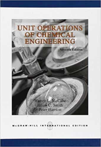 Unit Operations Of Chemical Engineering Mccabe Smith Ebook