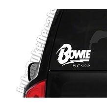 Bowie 1947- 2016 _ rip David Bowie car window vinyl decal bumper sticker
