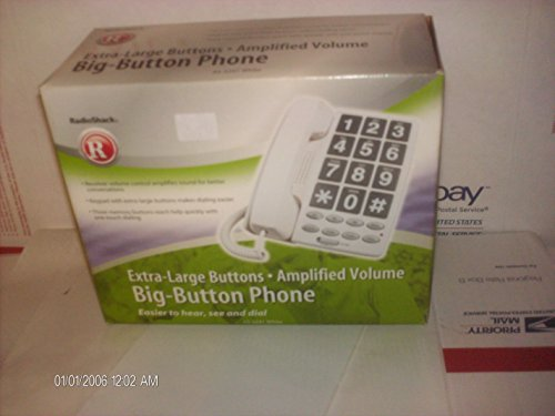 (Radio Shack Big-Button Phone with Caller I.D.)
