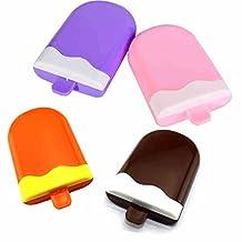 Contact Lens Travel Kit with Mirror, Solution Bottle, Tweezers and Twist Top Caps,Random Color