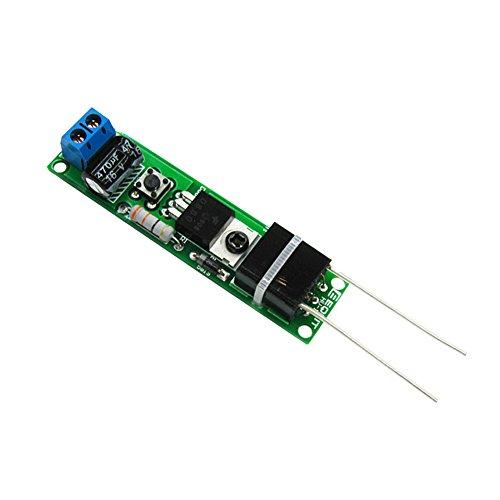 Icstation DIY High Voltage Electric Plasma Arc Lighter Assemble Kit 3-5V Input