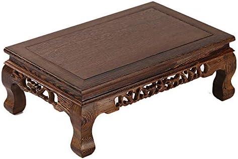 YNN Table Mesa de Madera Maciza Mesa de Ventana de bahía de Madera ...