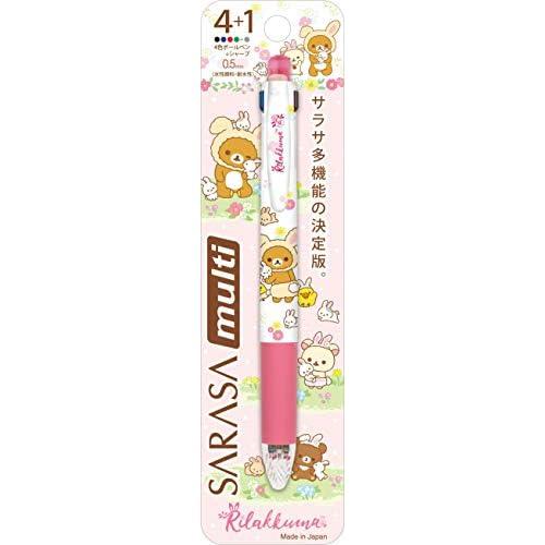San-X Rilakkuma Sarasa Mechanical Pencil Ballpoint Pen 4 + 1 PP41301