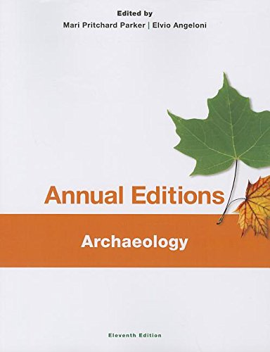 Annual Editions: Archaeology, 11/e