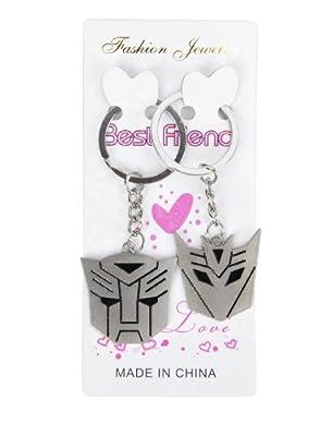 New Beautiful Transformers Couple Keychain