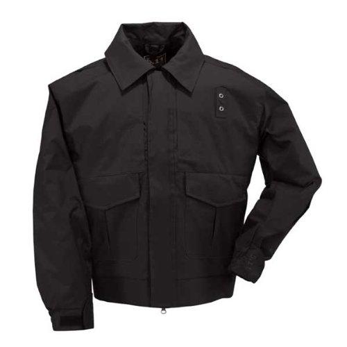 5.11 Tactical #48027 4-in-1 Patrol Jacket (Black, Medium Short) by 5.11