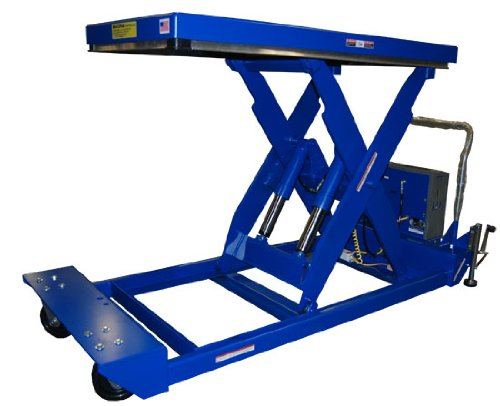 Beacon-Portable-Scissor-Lift-Table-Platform-Width-24-to-48-Platform-Length-48-to-72-Capacity-LBS-4000-Raised-Height-47-Lowered-Height-12-Travel-Time-Sec-28-Standard-Control-Hand-Control-with-Battery-S