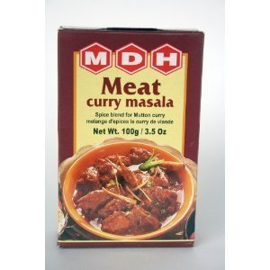 MDH Meat Curry Masala(3.5oz.,100g) (Pack of 3)