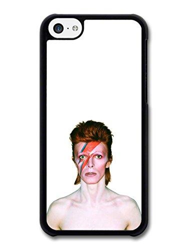 David Bowie Eyes Closed Lighting Portrait coque pour iPhone 5C