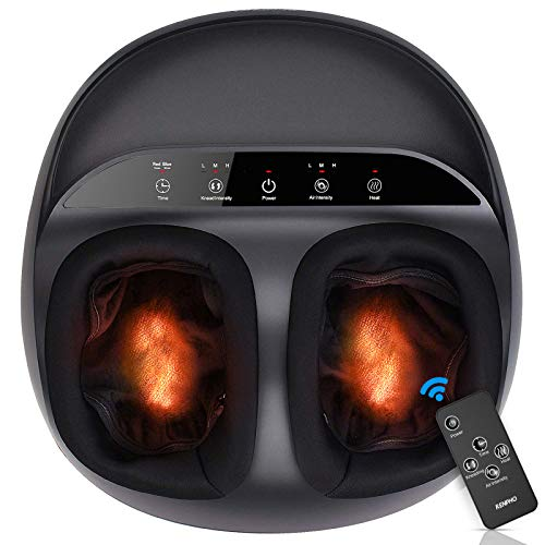 RENPHO-Foot-Massager-Machine-Upgrade-Heat-for-Full-Foot-Shiatsu-Deep-Kneading-Multi-Level-Settings-Delivers-Relief-for-Tired-Muscles-and-Plantar-Fasciitis-Fits-feet-up-to-Men-Size-12