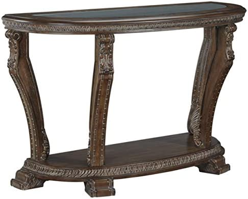 Signature Design by Ashley – Charmond Traditional Console Table, Brown