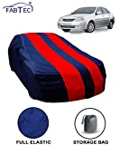 Fabtec Red & Blue Car Body Cover for Chevrolet Optra with Storage Bag Combo!