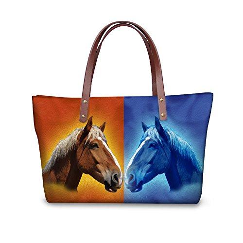 Shoulder Bags FancyPrint V6lcc3449al Bags School Women leather wxX55z7q0