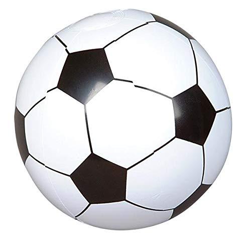 12 Soccer Ball Beach Balls Inflatable Fun Toy 1 Dozen -