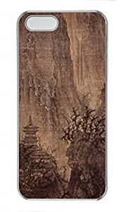 Chinese Ink and wash painting PC Transparent For SamSung Galaxy S5 Mini Phone Case Cover - Magnificent