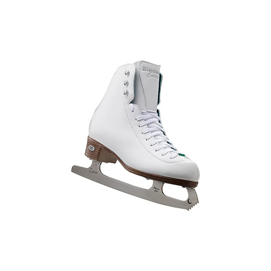 Riedell 119 Emerald / Womens Recreational Figure Ice Skates / Color: White or Black