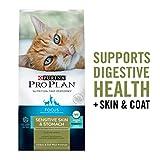 Purina Pro Plan Probiotics, Sensitive Skin & Stomach, Natural Dry Cat Food, FOCUS Turkey & Oat Meal - 5.5 lb. Bag