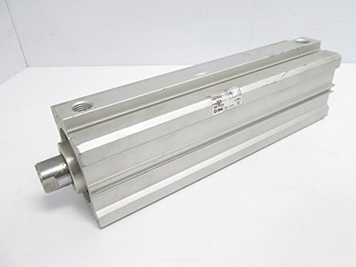 SMC CQ2A50-175DC Pneumatic Compact Cylinder, 50mm Bore, 175mm Stroke ()