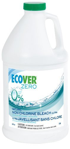 Ecover Laundry Bleach (Ecover Naturally Derived Non-Chlorine Color Safe Bleach, Zero Fragrance-Free, 64 Ounce by Ecover)