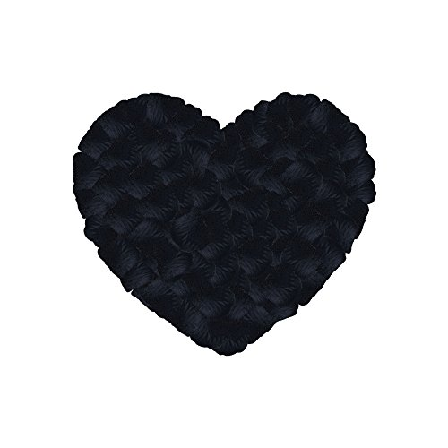 Neo LOONS 1000 Pcs Artificial Silk Rose Petals Decoration Wedding Party Color Black