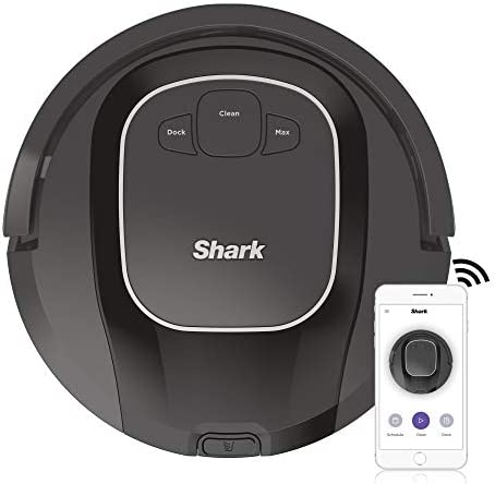 ION Robot Vacuum R87 with Wi-Fi and Voice Control, 0.6 Quarts, in Black