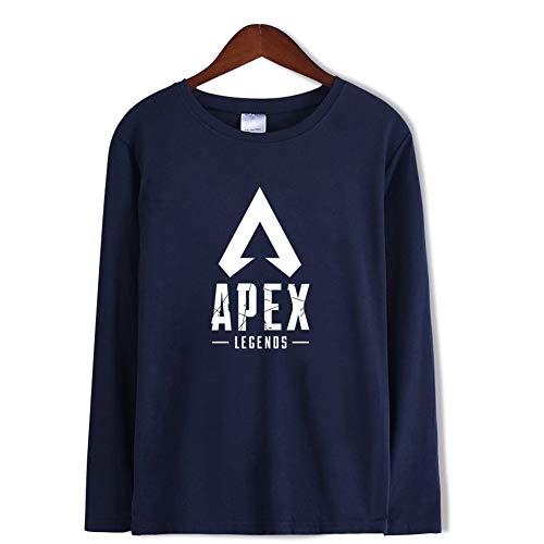 Blue1 Apex Lunga Magliette Poliestere Unisex Manica shirt Estate Stampa Legends 3d Girocollo T v0wdq7P
