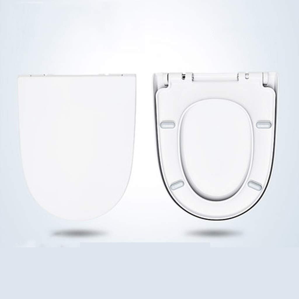 LXYFMS Toilet Ring Household Universal Down Toilet Seat U-Shaped Toilet Accessories Toilet lid