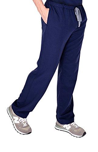 596fe3405c2 FIGS Medical Scrubs Men's Pisco Basic Scrub Pants (Navy Blue, .