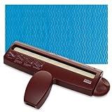 Uchida of America 8-1/2-Inch Corru-Gator Paper Crimper, Wave