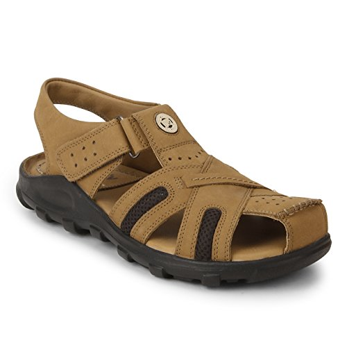 Red Chief Rust Casual Thong Sandal for Men (RC0317 022-07 UK)