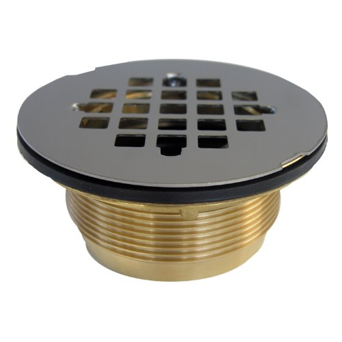 lasco-03-1222-shower-drain-for-fiberglass-shower-with-stainless-steel-grid-and-compression-gasket-se