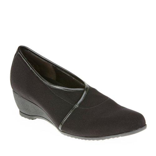 Munro Womens Dana Slip-On Shoes, Black, 7 B(M) US