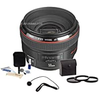 Canon EF 50mm f/1.2L USM Standard Lens (Certified Refurbished)