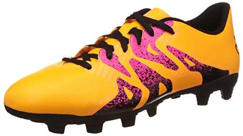 Adidas X 15.4 FxG Men's Football Boots Orange, Sizes:EU/41 - UK/7.5 - - Cheap Uk Adidas