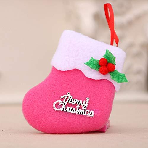 GzxtLTX-Socks,Christmas Decorations New Year Gifts Santa Snowman Socks Christmas Socks Gift (Pink) by GzxtLTX-Socks (Image #1)