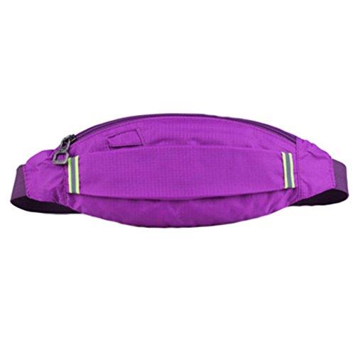 Wasserdichte Hüfttasche Fanny-Satz Tragbare und leichte Bauweise Lauf Hüfttasche